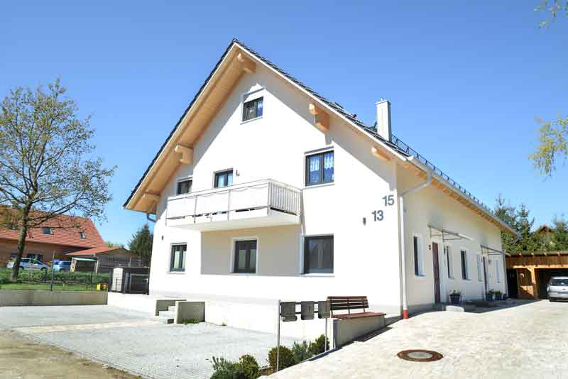 Doppelhaus mit 3 WE in Freising
